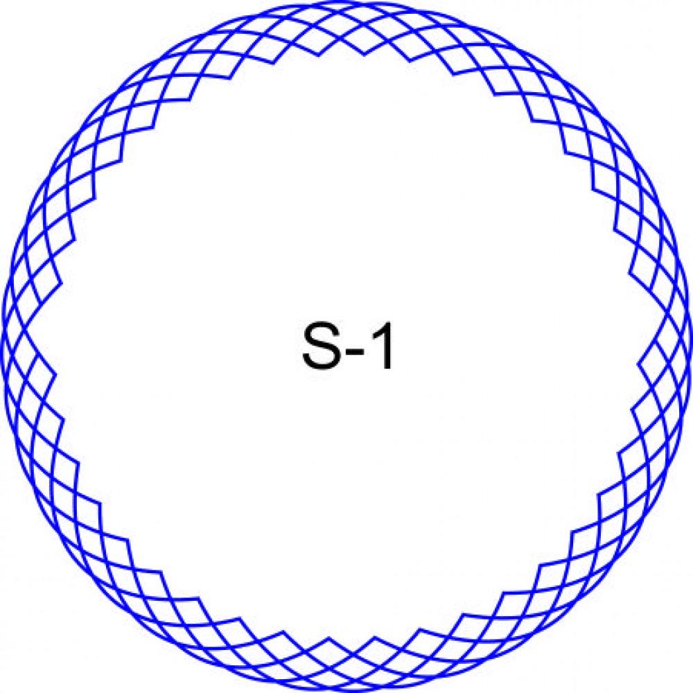 Косичка для печати образец KOS-1