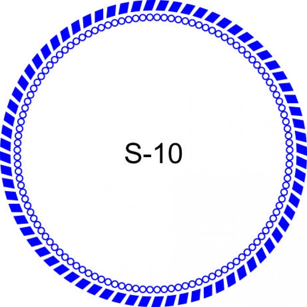Косичка для печати образец KOS-10