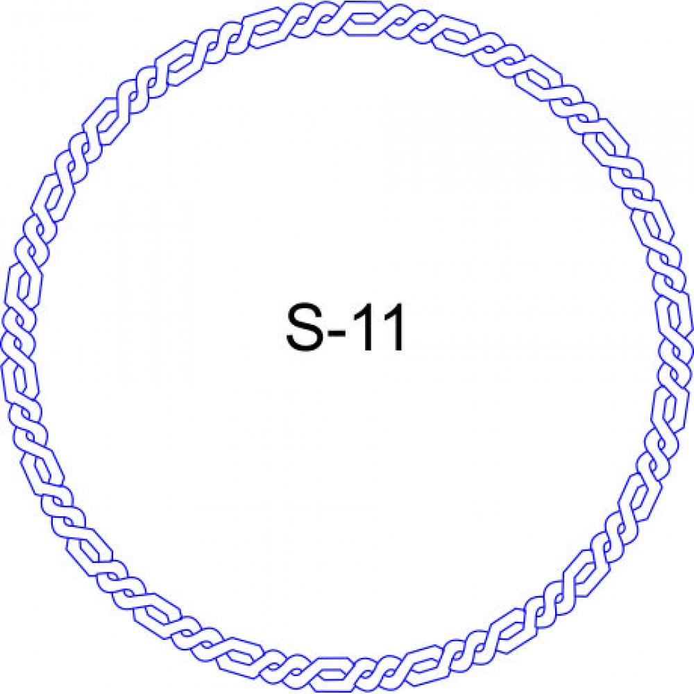 Косичка для печати образец KOS-11