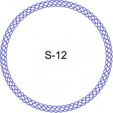 Косичка для печати образец KOS-12
