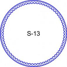 Косичка для печати образец KOS-13