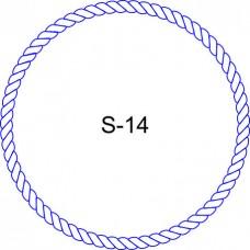 Косичка для печати образец KOS-14