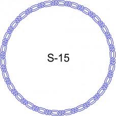 Косичка для печати образец KOS-15