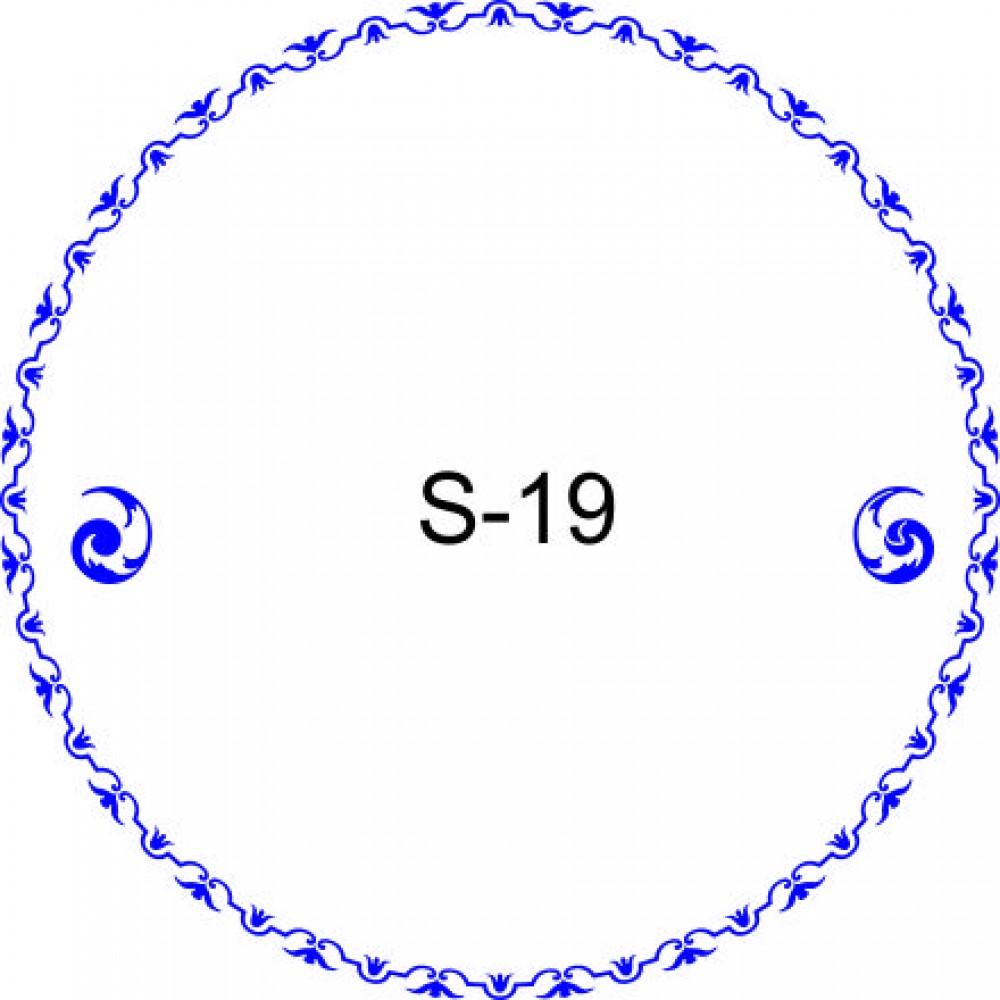 Косичка для печати образец KOS-19