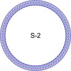 Косичка для печати образец KOS-2
