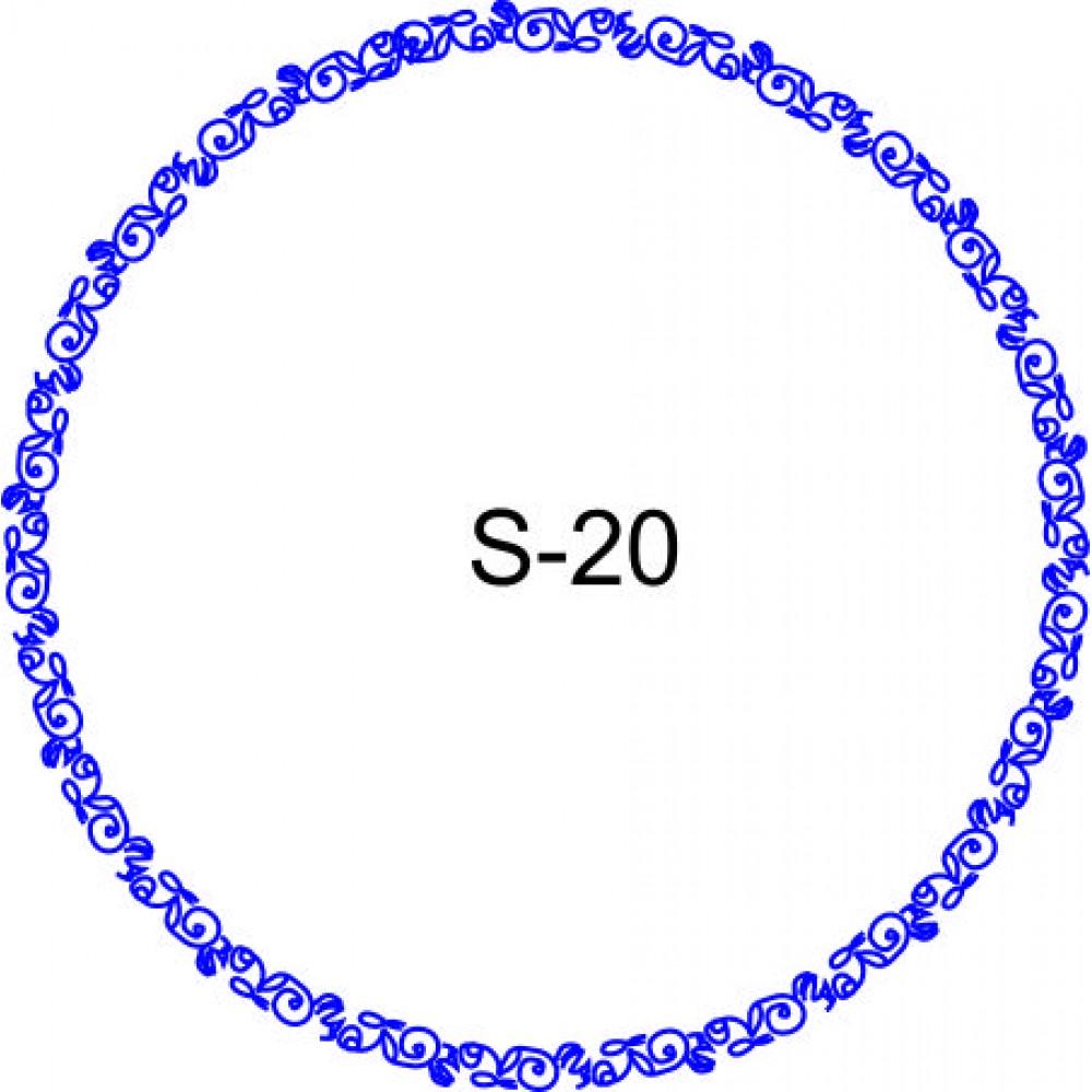 Косичка для печати образец KOS-20