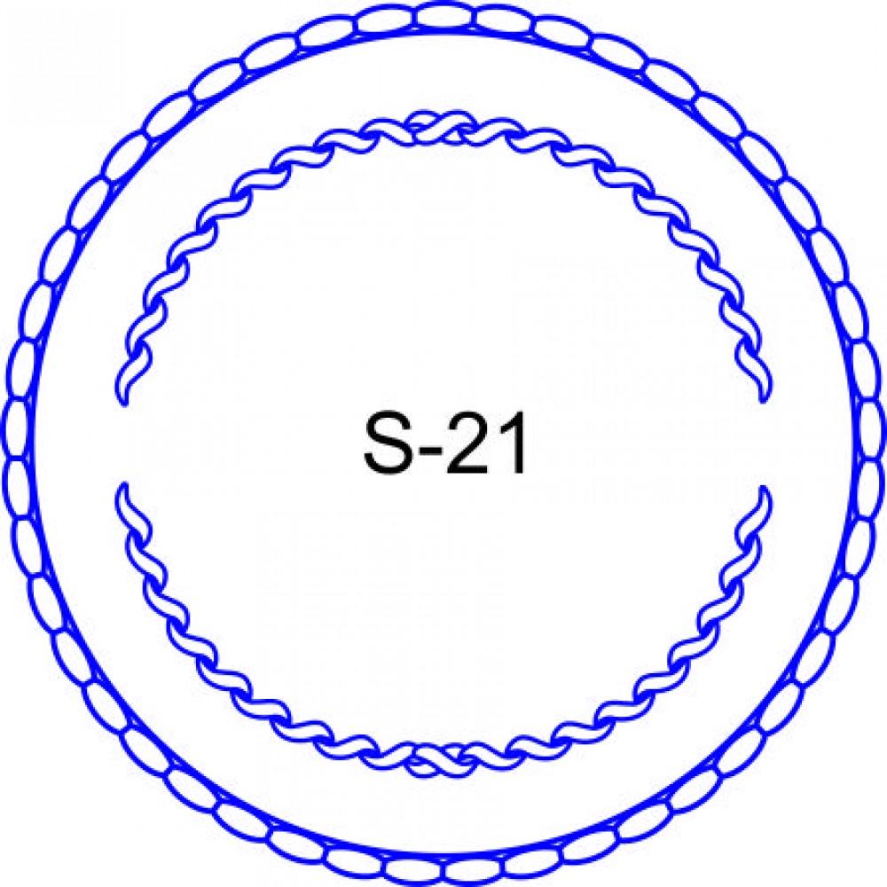 Косичка для печати образец KOS-21