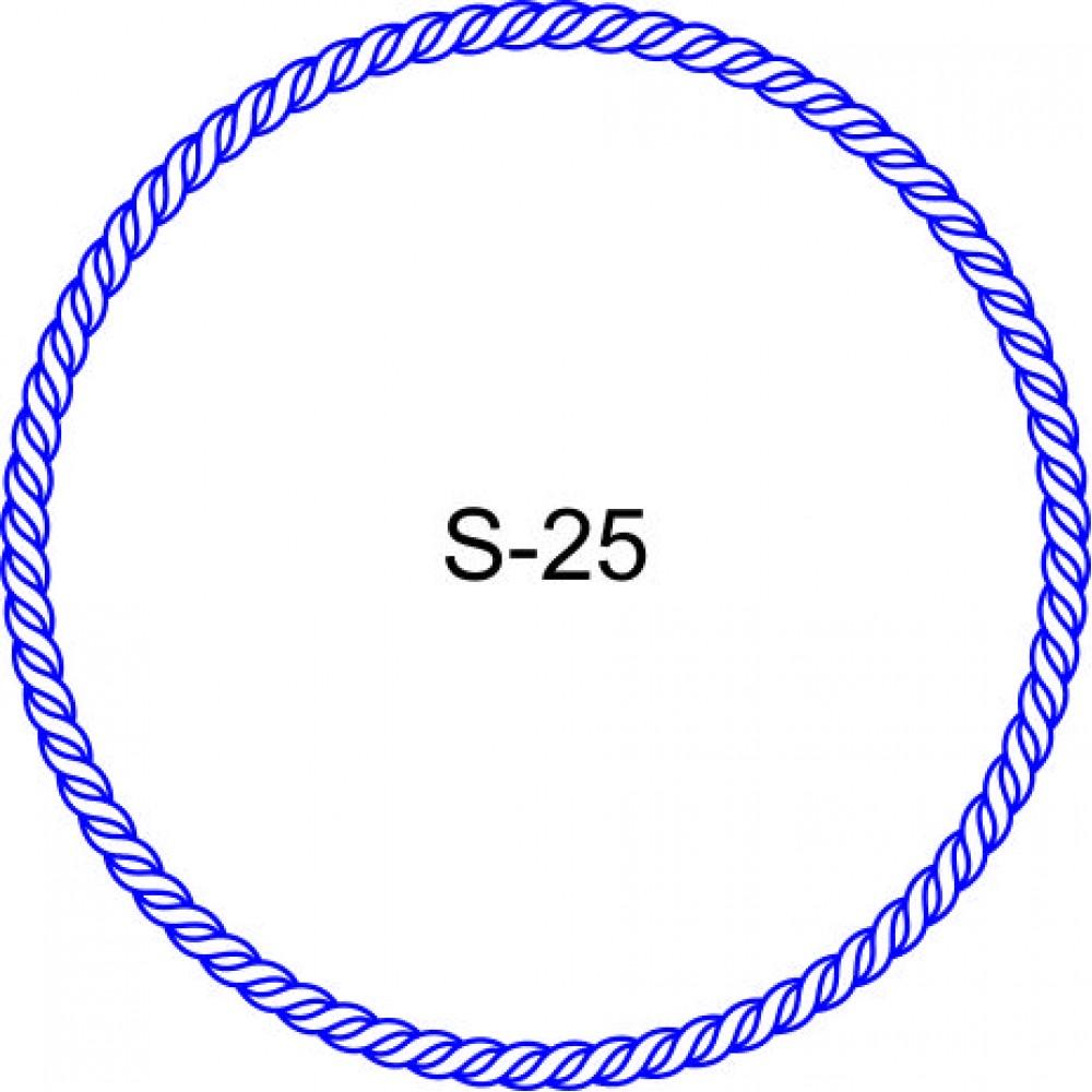Косичка для печати образец KOS-25