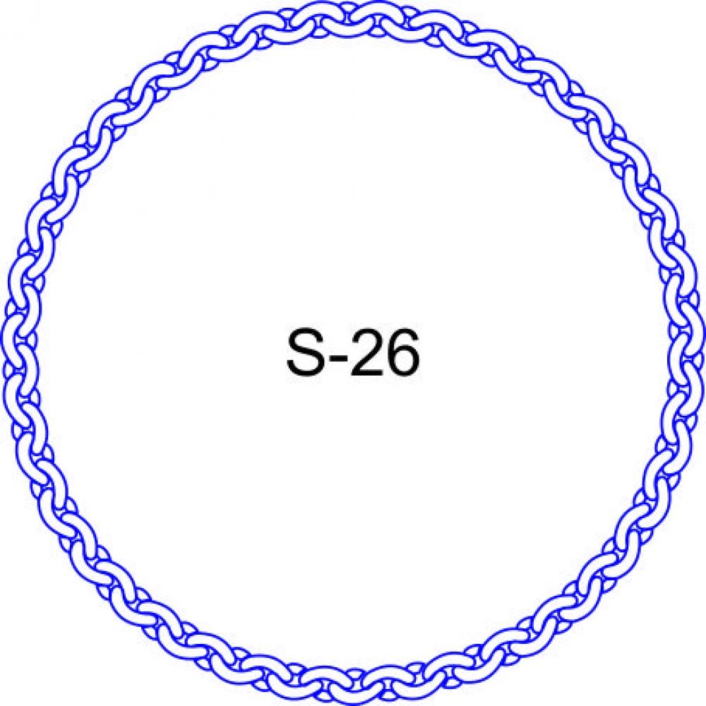 Косичка для печати образец KOS-26