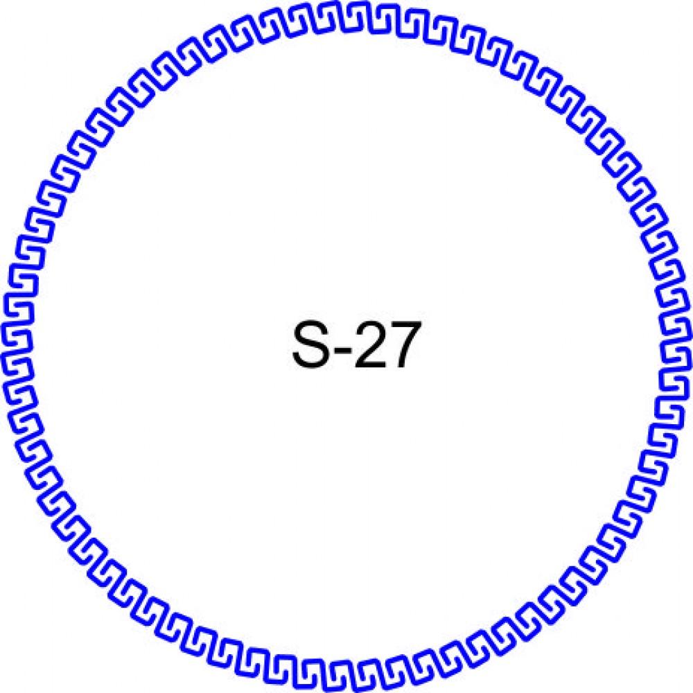 Косичка для печати образец KOS-27