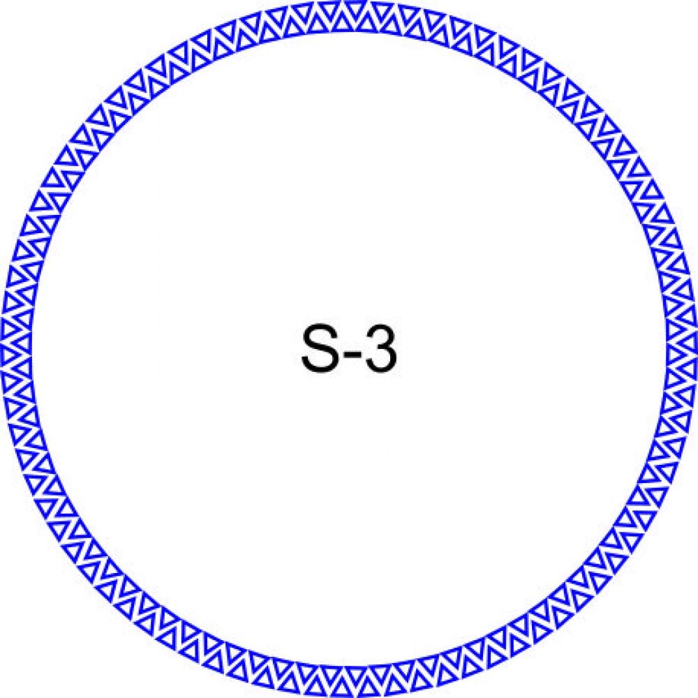 Косичка для печати образец KOS-3