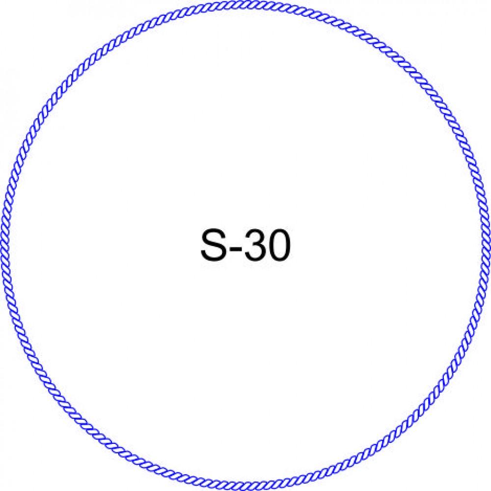 Косичка для печати образец KOS-30