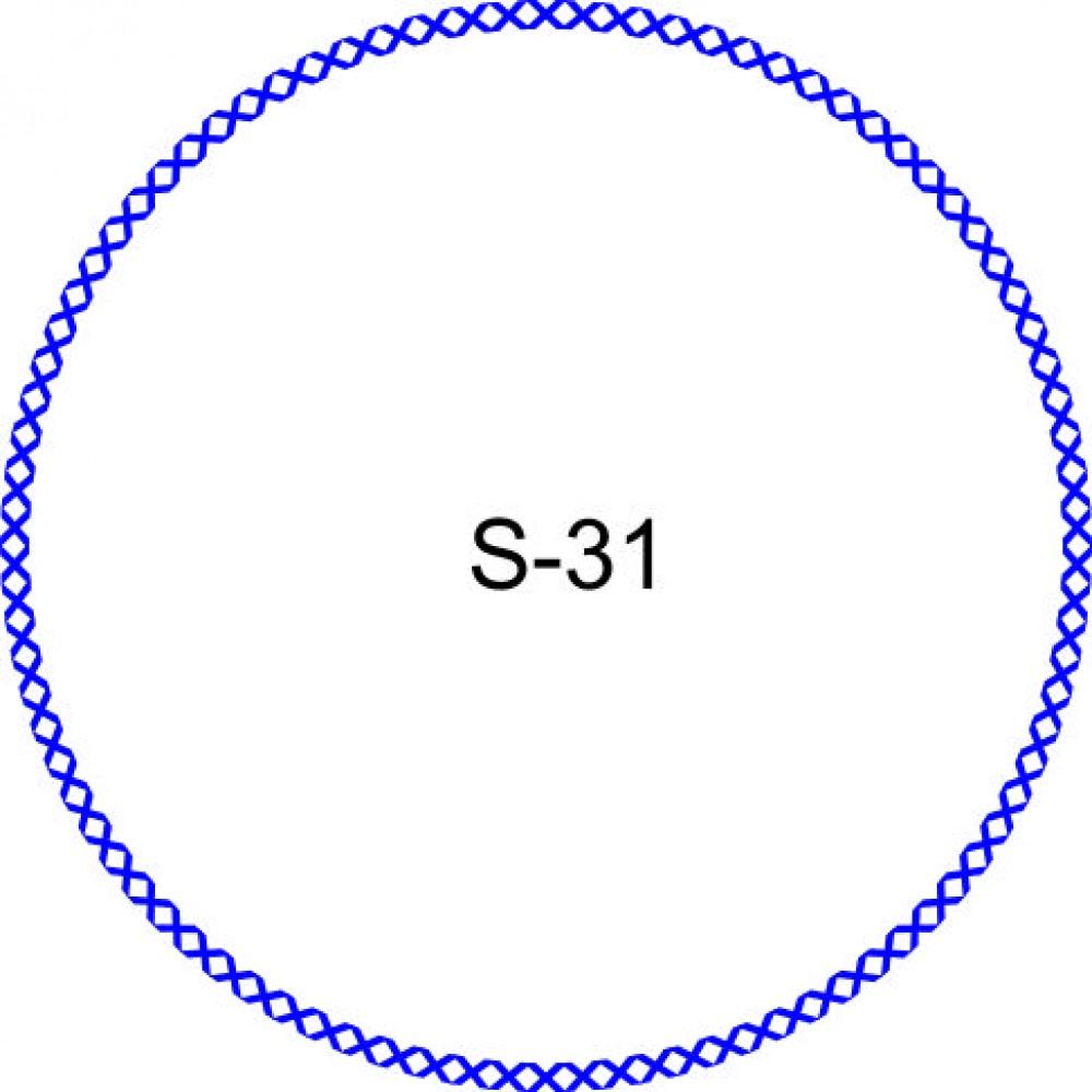 Косичка для печати образец KOS-31