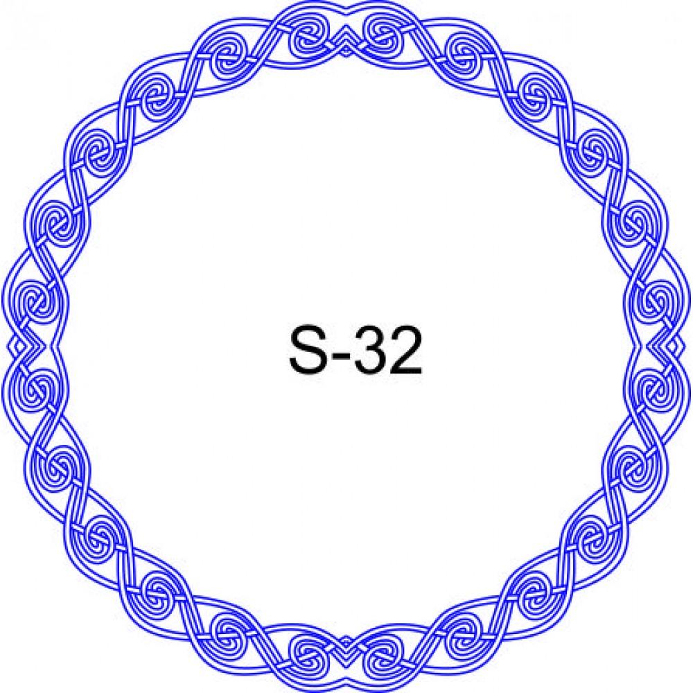 Косичка для печати образец KOS-32