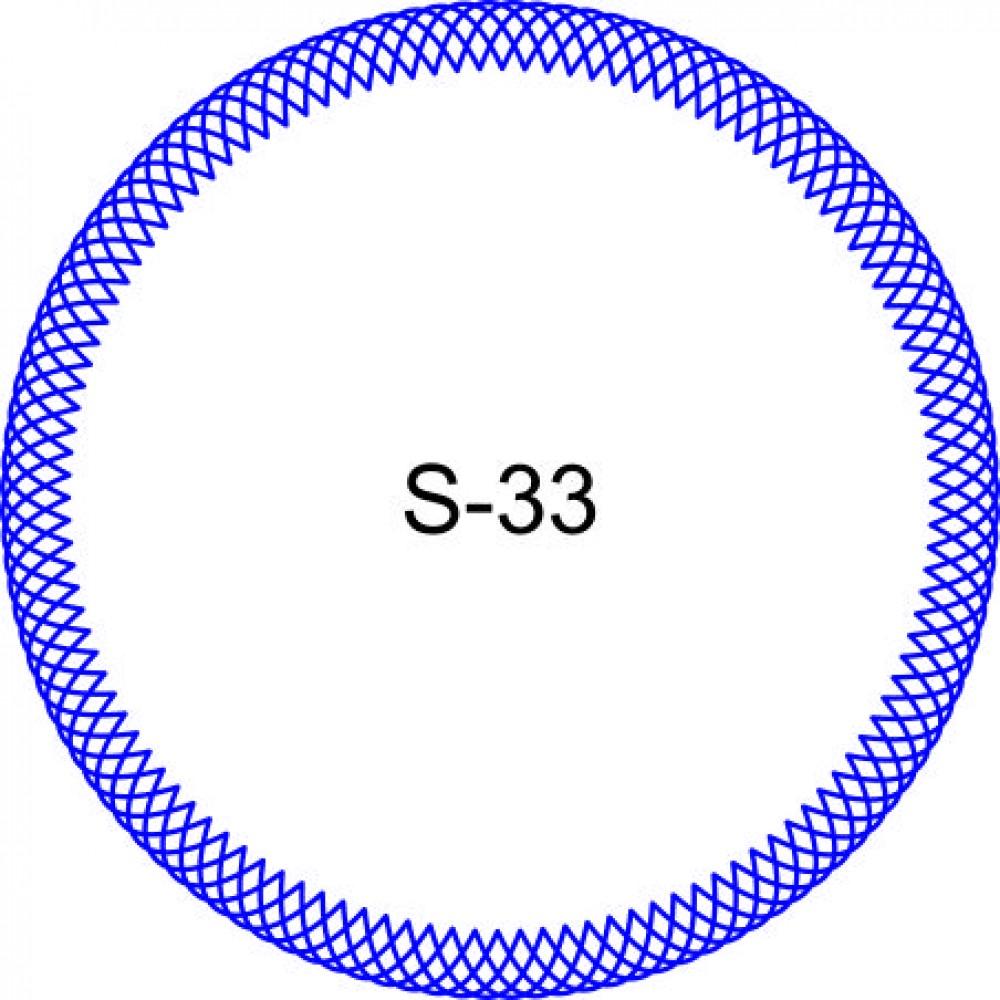 Косичка для печати образец KOS-33