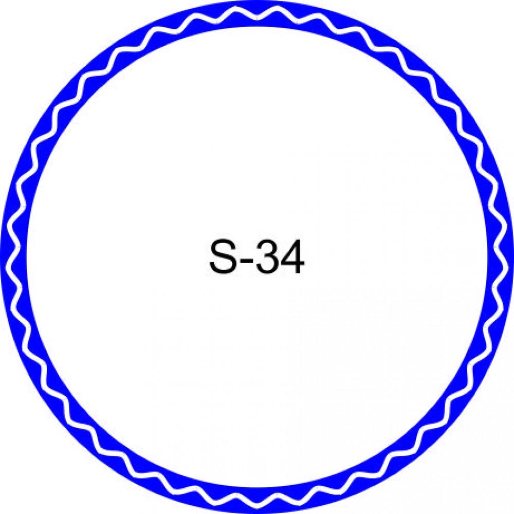 Косичка для печати образец KOS-34