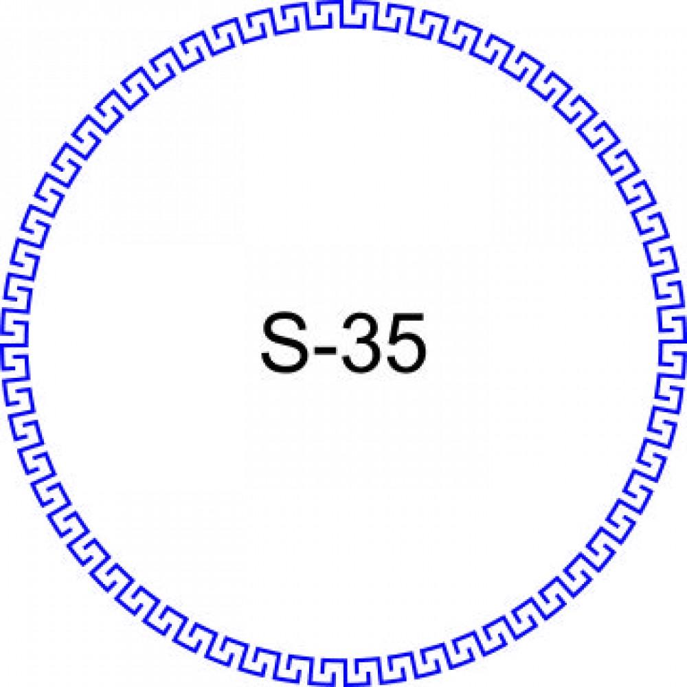 Косичка для печати образец KOS-35