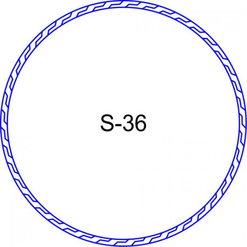 Косичка для печати образец KOS-36