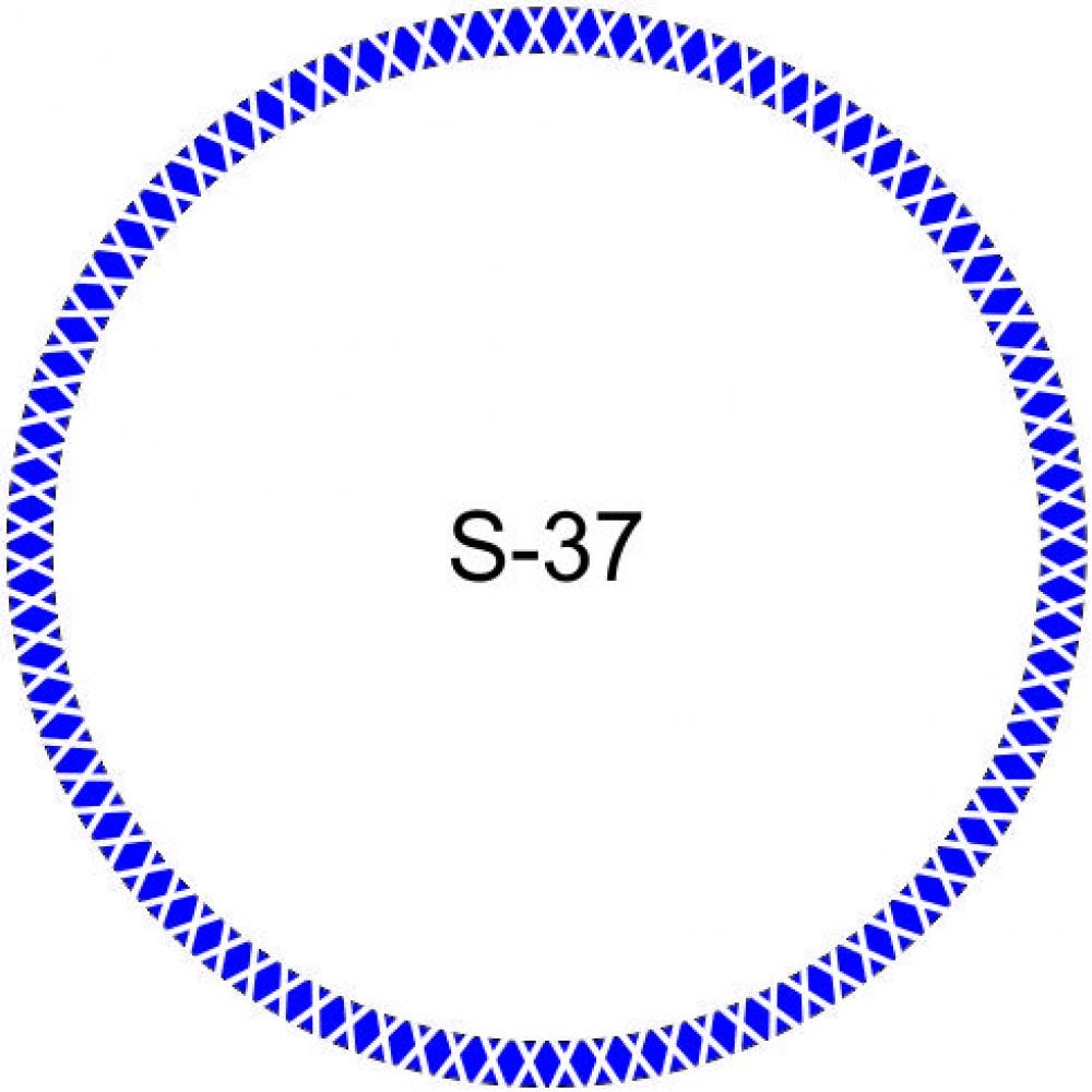 Косичка для печати образец KOS-37