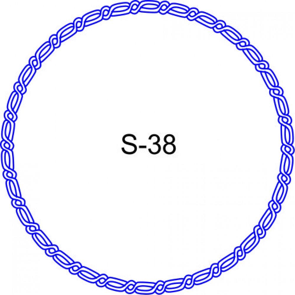 Косичка для печати образец KOS-38