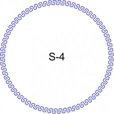 Косичка для печати образец KOS-4