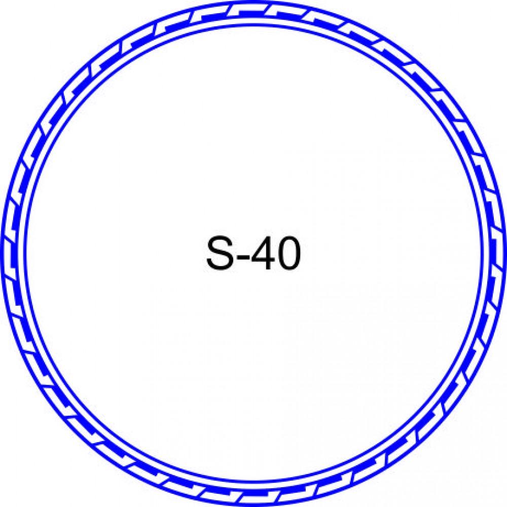 Косичка для печати образец KOS-40