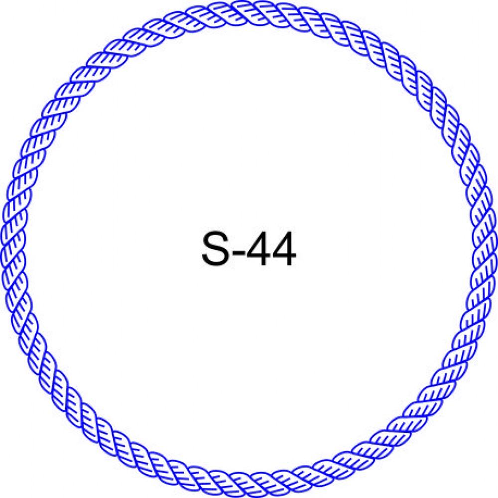 Косичка для печати образец KOS-44