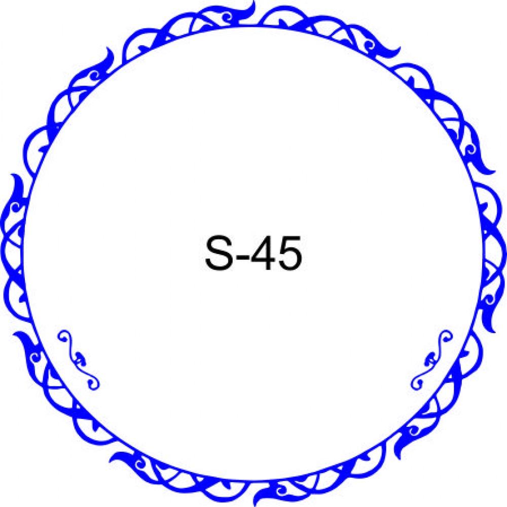 Косичка для печати образец KOS-45