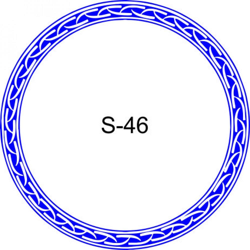 Косичка для печати образец KOS-46