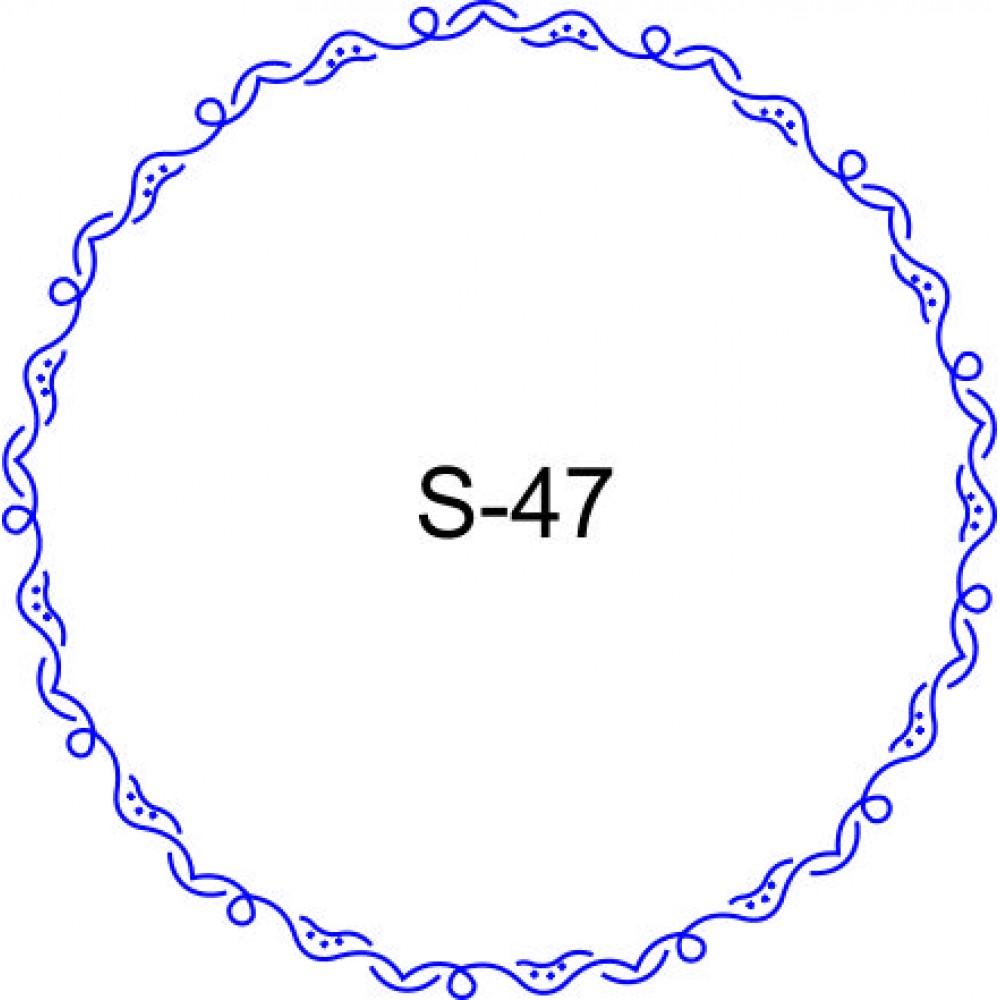 Косичка для печати образец KOS-47