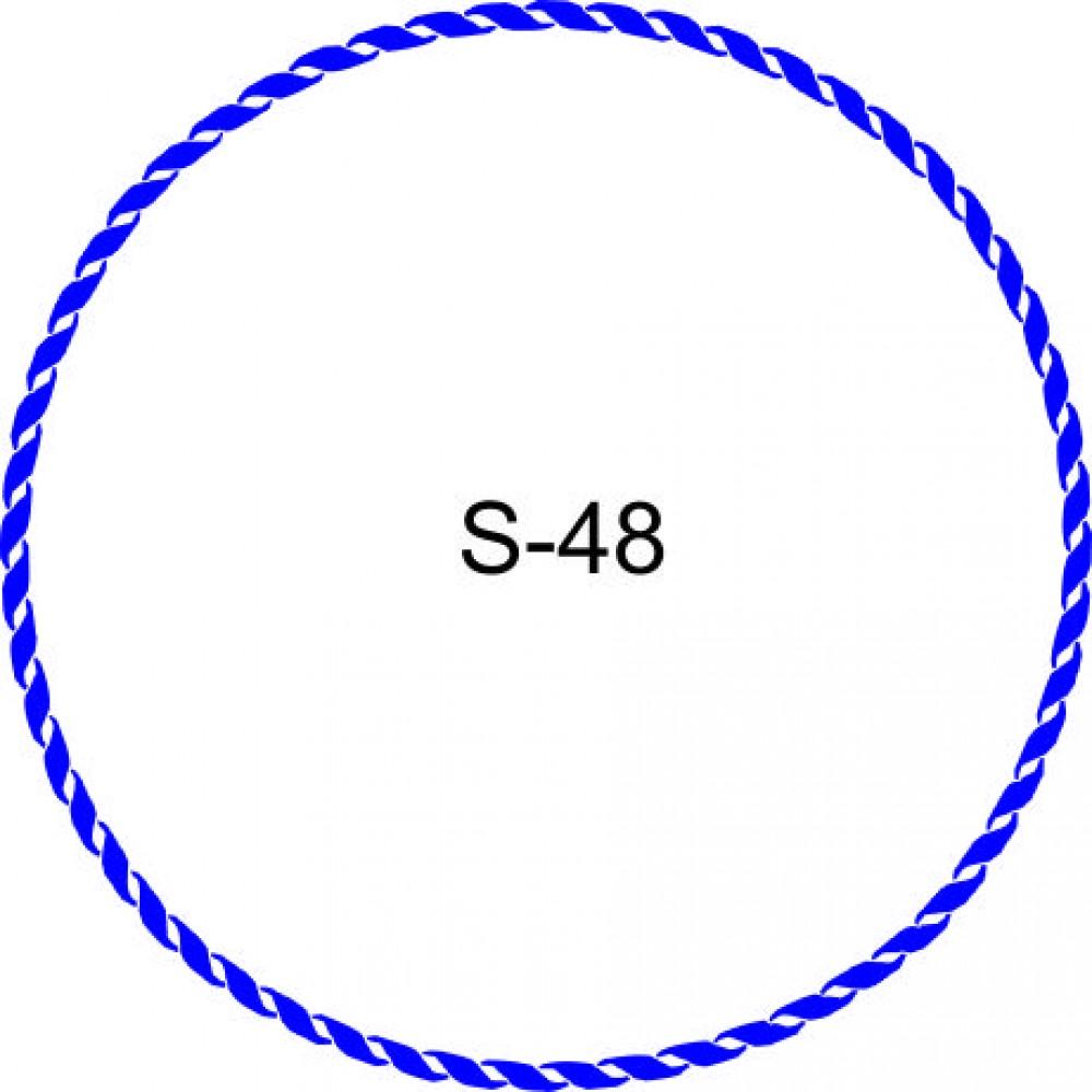 Косичка для печати образец KOS-48
