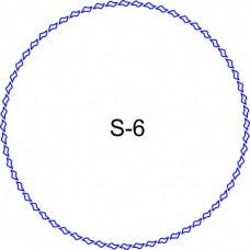 Косичка для печати образец KOS-6