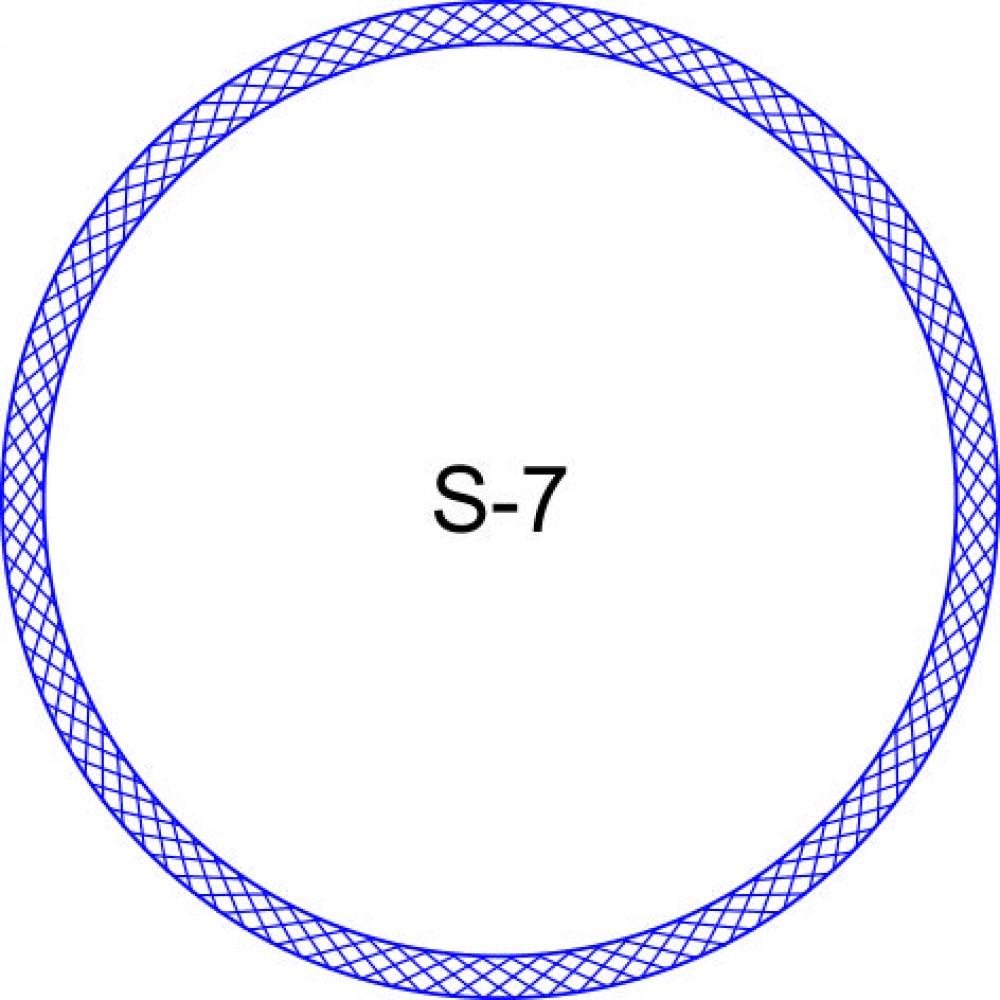 Косичка для печати образец KOS-7