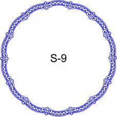 Косичка для печати образец KOS-9