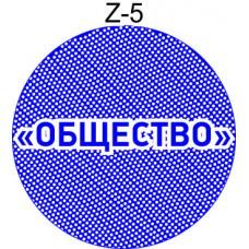 Защитная сетка для печати образец Z-5