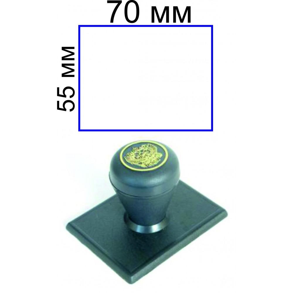 Ручной штамп 55*70 мм