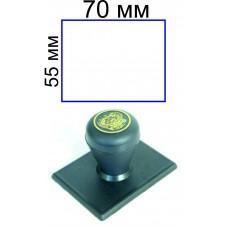 Ручной штамп 55*70 мм (цена с учетом изготовления)